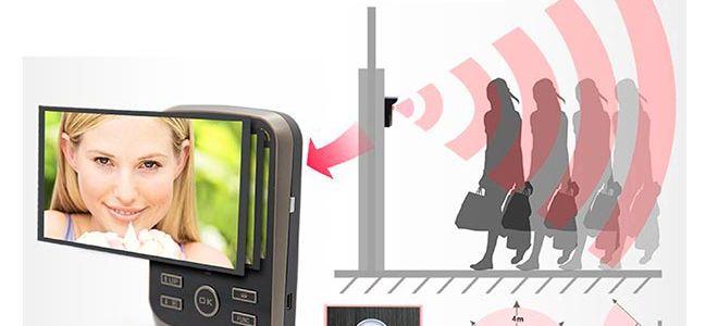 Видеодомофоны в квартиру с функцией записи по датчику движения