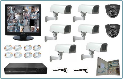 комплект для видеонаблюдения